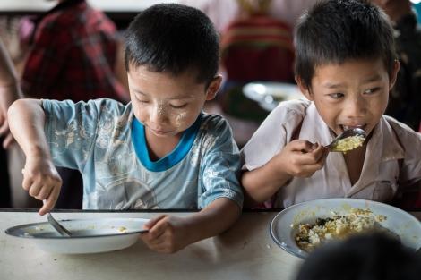 Tailandia, comedor ONG