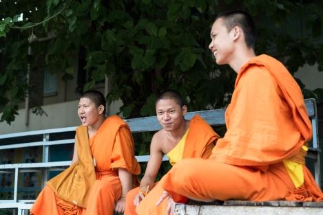 Monjes Chiang Mai
