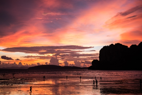 Atardecer en Railay