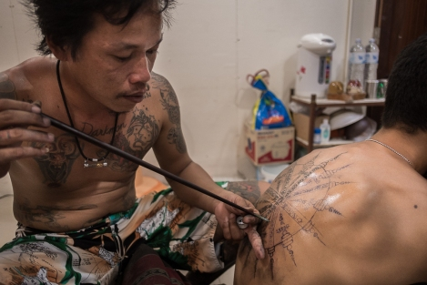 Tatuaje en Railay
