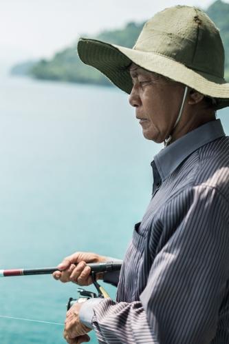 Pescador en Pulau Weh