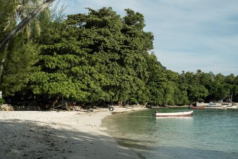 La playa de Gapang, Pulau Weh