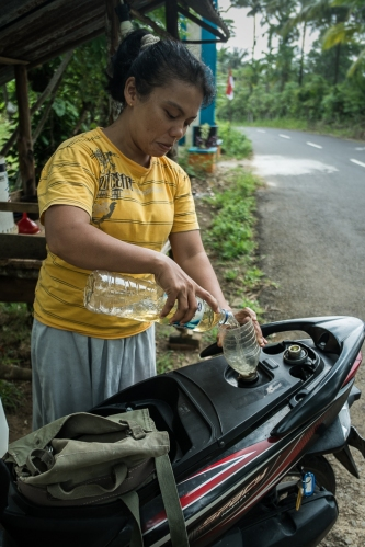 Gasolinera en Pulau Weh