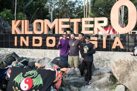 Kilometer 0, Indonesia