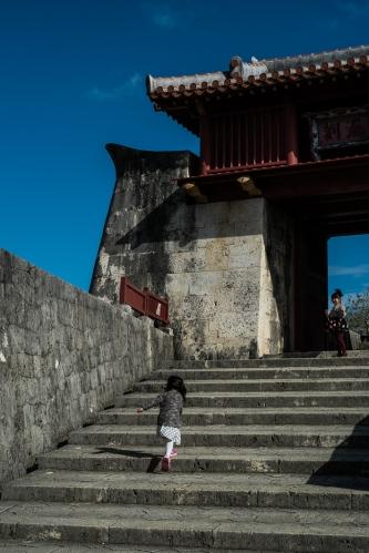 Castillo de Naha, Okinawa, Japón