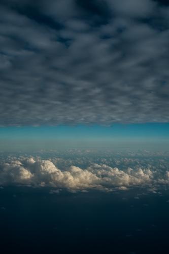 Cielo sobre las islas del sur, Japón