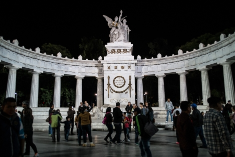 Monumento en el centro de Mexico DF