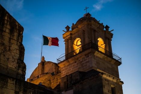 Iglesia de Oaxaca, Mexico