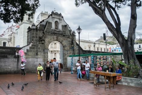Iglesia en Oaxaca, Mexico