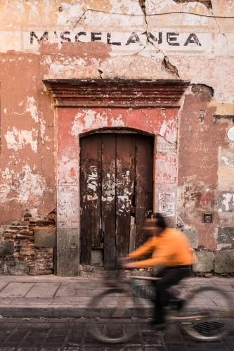 Una calle de Oaxaca
