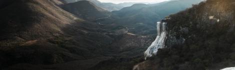 Cascada en Hierve el Agua