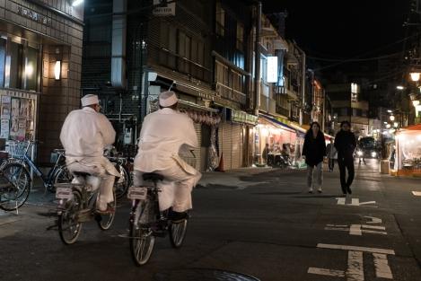Bicicletas en Asakusa