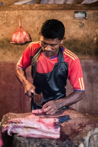 Puesto de venta de pescado
