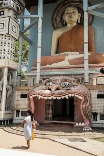 Templo budista en Negombo