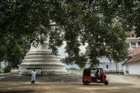 Pagoda, Kandy, Sri Lanka
