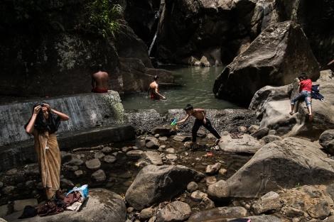 Cascada, Kandy, Sri Lanka