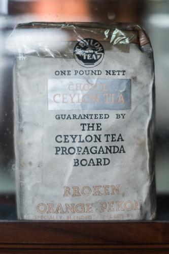 Bolsa de té. Kandy, Sri Lanka