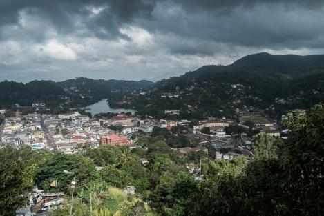 Vista de Kandy