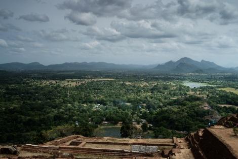 Vista de Sigiriya