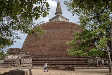 Estupa en Polonnaruwa
