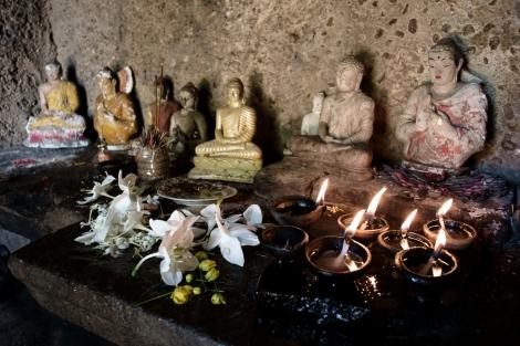 Altar en Polonnaruwa