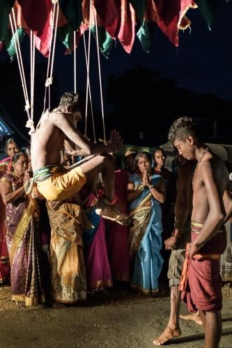 Procesión tamil penitencia