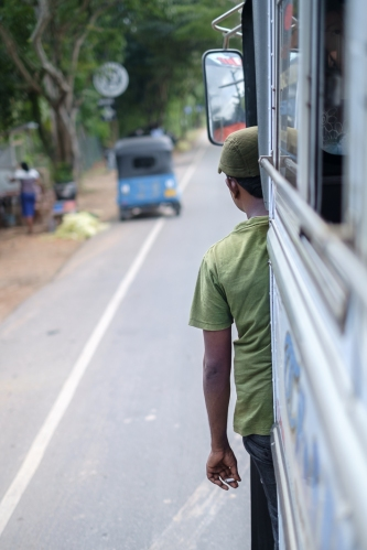 Autobús en Sri Lanka