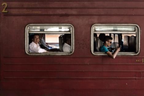 Tren en Ceilán