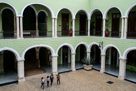Palacio, Mérida, México