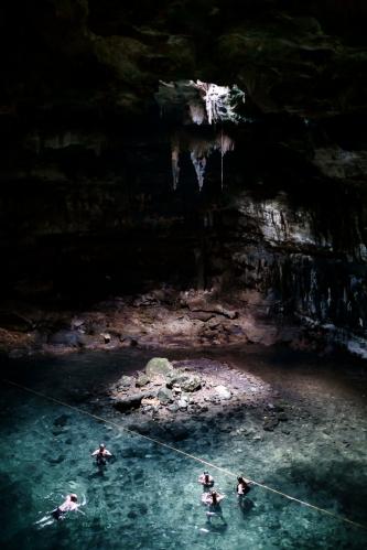 Cenote en Chichen Itza