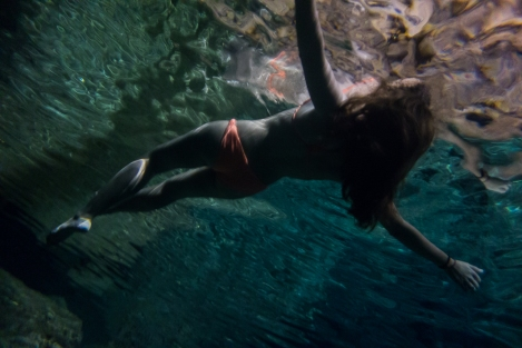Cenote en San Juan