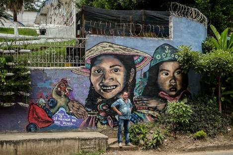 Graffitour Comuna 13, Medellín