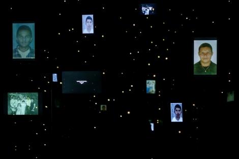 Retratos de desparecidos de la Operación Orión