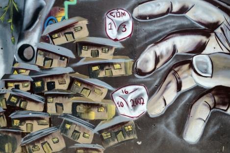 Graffiti en la Comuna 13