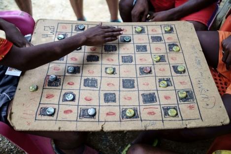 Juego en Palenque, Colombia
