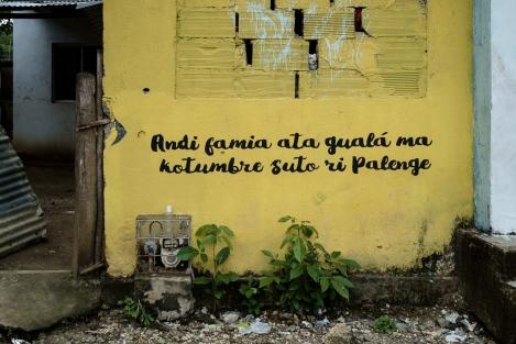 Idioma de Palenque, Colombia