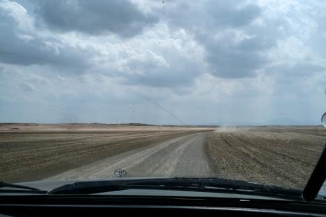 Camino en la Guajira
