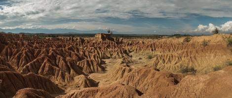 Panorámica del desierto de la tatacoa